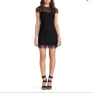 MINKPINK Surrender Black Lace Dress